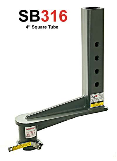 Weigh Safe Hitch >> 16 inch gooseneck extension